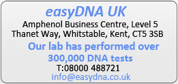 Fully Accredited lab has performed over 250,000 DNA Tests!